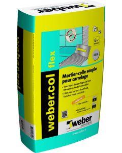 WEBERCOL FLEX GRIS 25KG