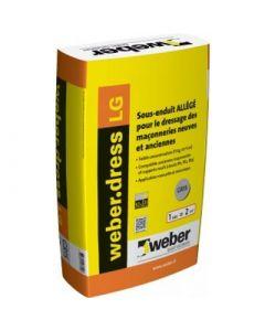 WEBERDRESS LG SAC DE 25 KG