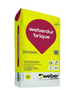 WEBERDUR BRIQUE 25 KG
