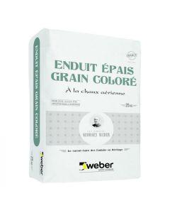 WEBER ENDUIT EPAIS GR COLOR 25KGS