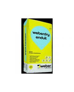 WEBERDRY ENDUIT SAC 25 KG